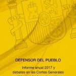 Portada Informe Defensor del Pueblo