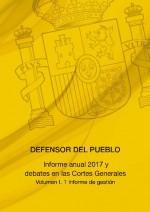 Informe anual 2017 del Defensor del Pueblo