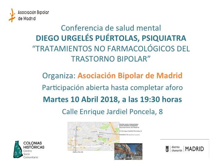 Conferencia tratamientos no farmacológicos trastorno bipolar