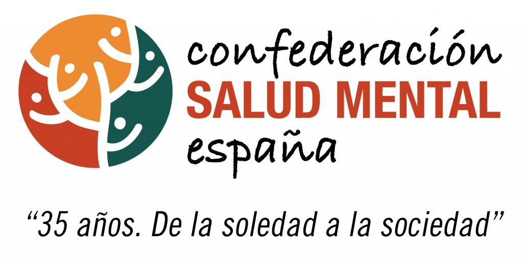 Logo 35 aniversario SALUD MENTAL ESPAÑA