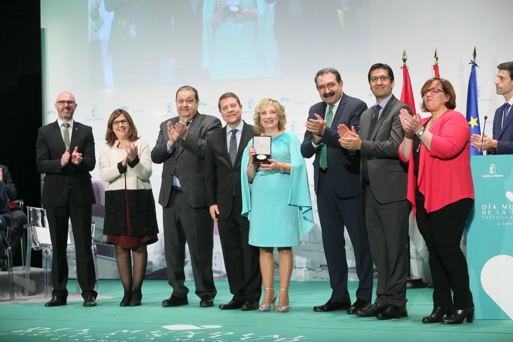 Medalla Merito Sanitario Castilla la Mancha