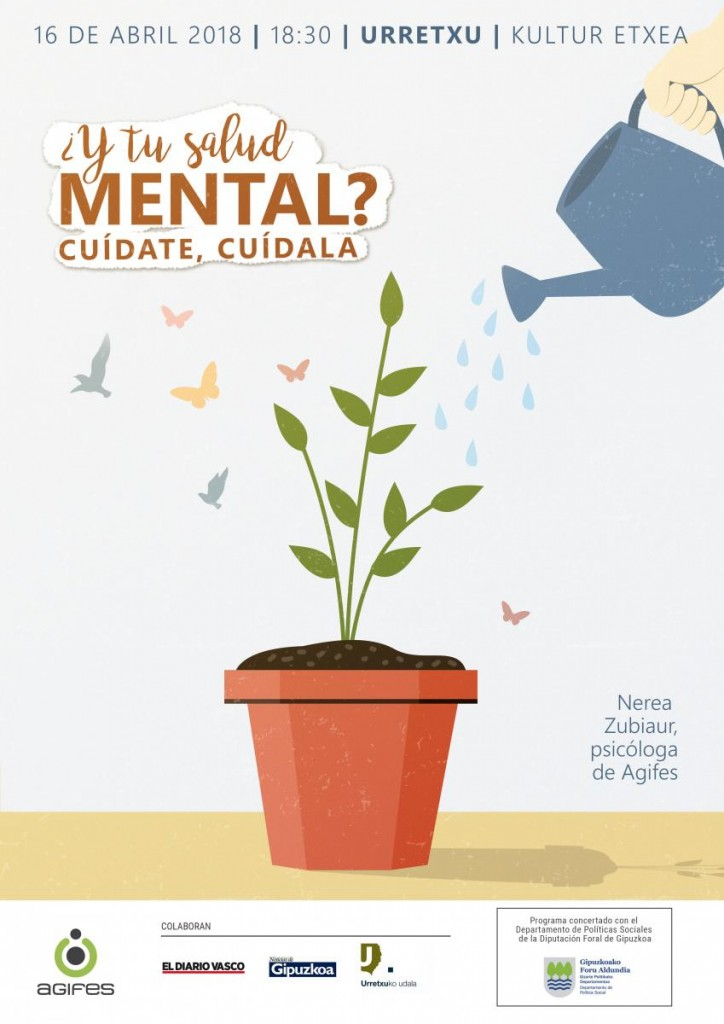 Salud mental charla Agifes