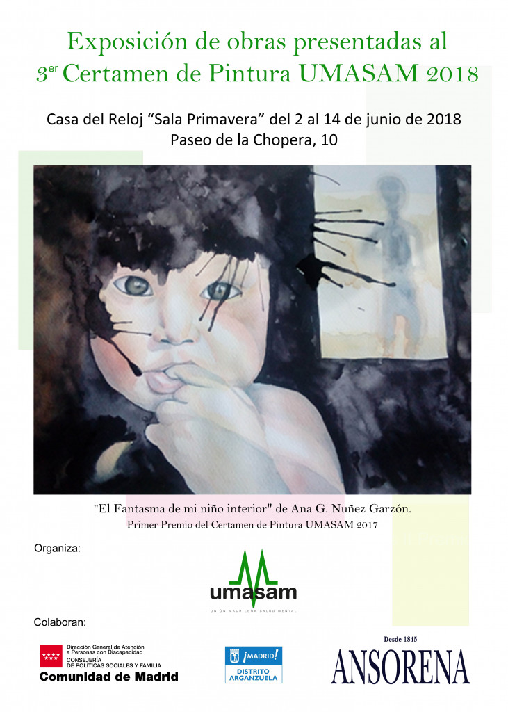 Exposición obras 3er Certamen de Pinturas UMASAM