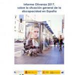 Portada Informe olivenza discapacidad 2017