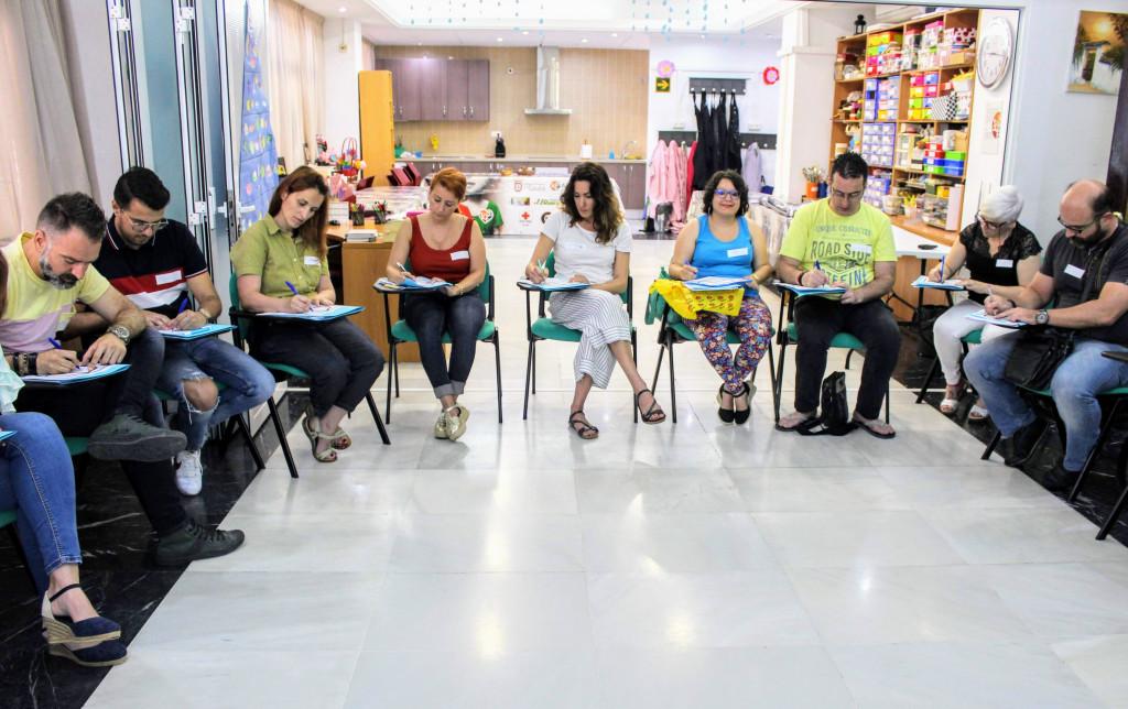 Curso portavoces de SALUD MENTAL ESPAÑA en Ceuta 2018