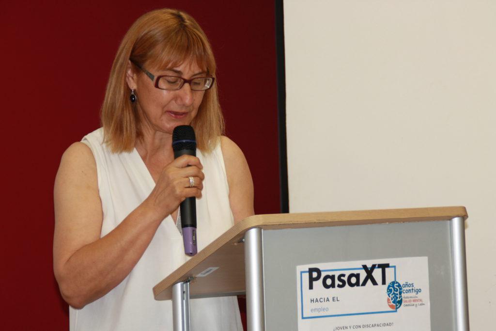 Elena Briongos en PasaXT hacia el Empleo