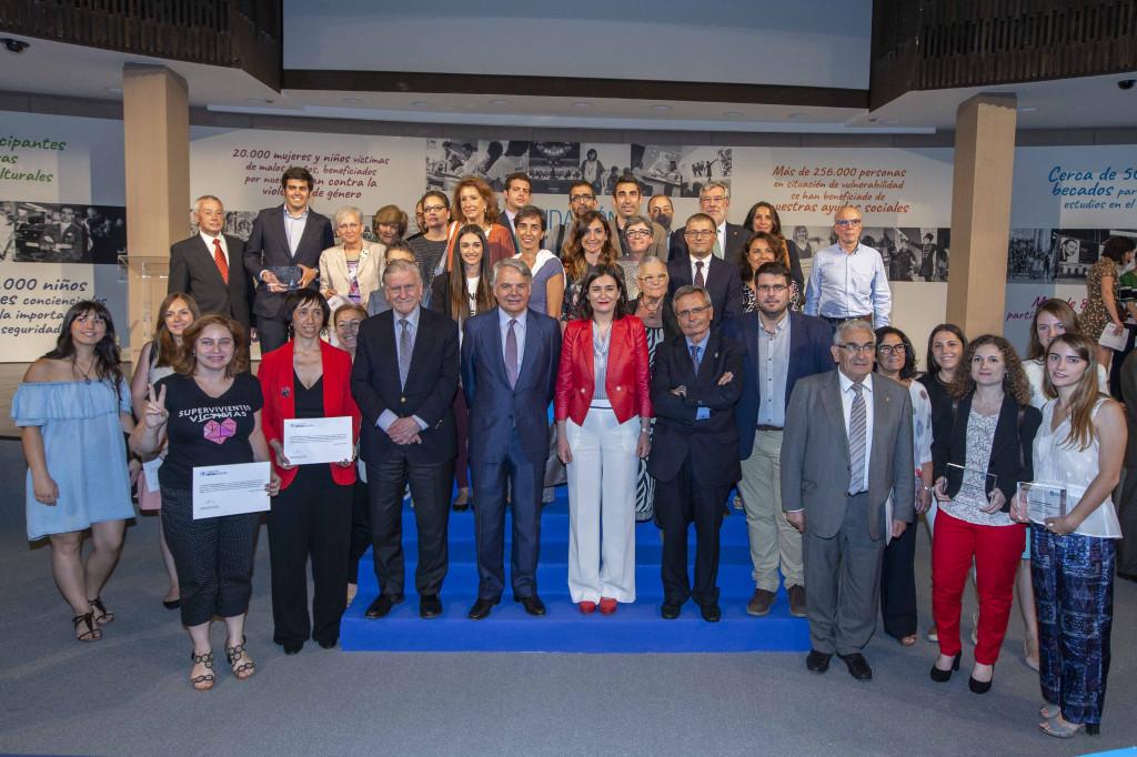 Entrega de Ayudas a la Acción Social Fundación Mutua 2018