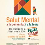 Cartel Día Mundial Salut Mental