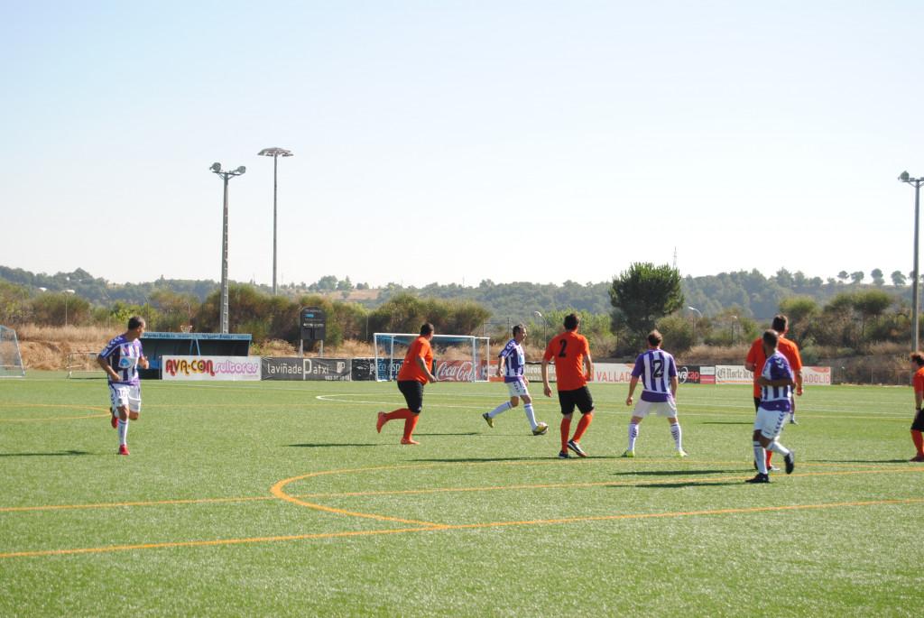 Partido amistoso El Puente Valladolid