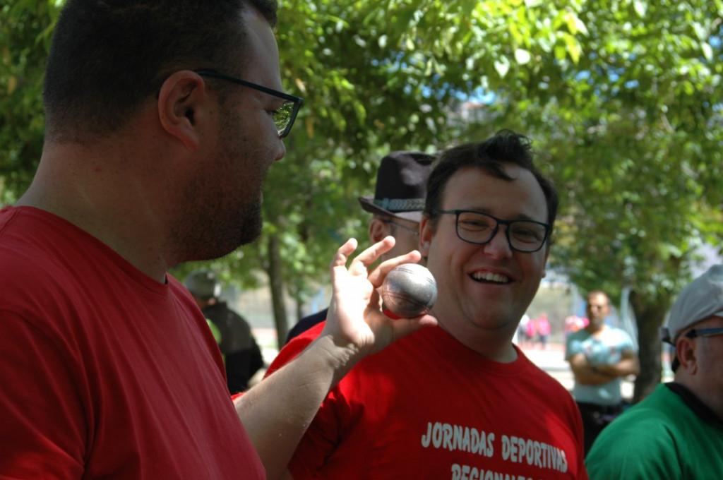 Petanca en las Jornadas Deportivas de Feafes salud mental Extremadura