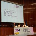 SALUD MENTAL ESPAÑA en la presentación del Observatorio de Salud de las Mujeres