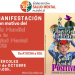 manifestación día mundial salud mental madrid