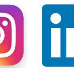Instagram y Linkedin