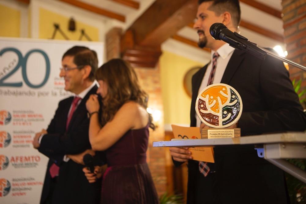 Premios Federación Salud Mental Murcia 20 aniversario 2