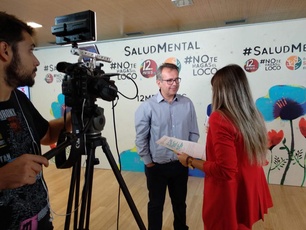 Presentación #NoTeHagasElLoco de Mediaset y SALUD MENTAL ESPAÑA