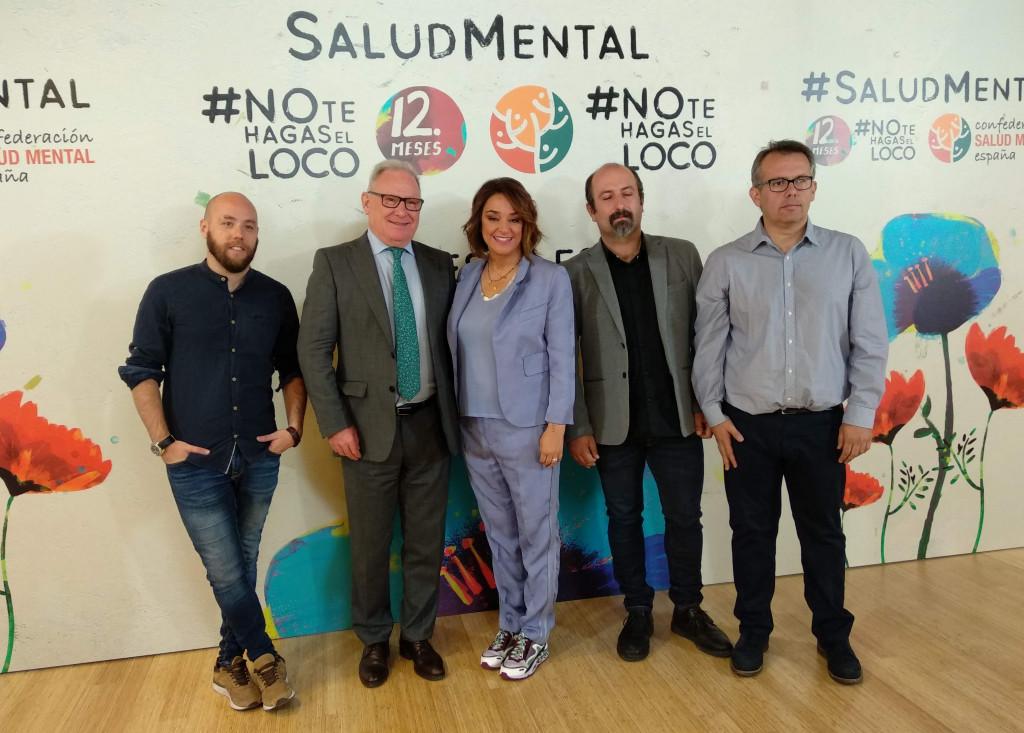 Presentación #NoTeHagasElLoco de Mediaset España y SALUD MENTAL ESPAÑA