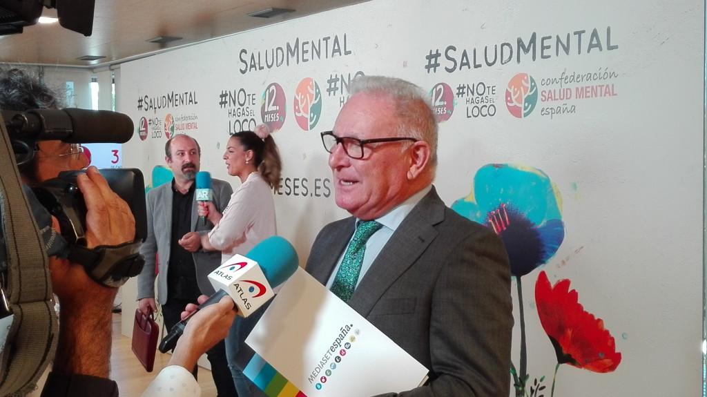 Nel González Zapico en la presentación #Notehagaselloco de Mediaset y SALUD MENTAL ESPAÑA