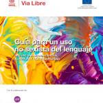 Portada Guia para un uso no sexista lenguaje