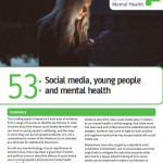 Portada Social Media Young People Mental Health