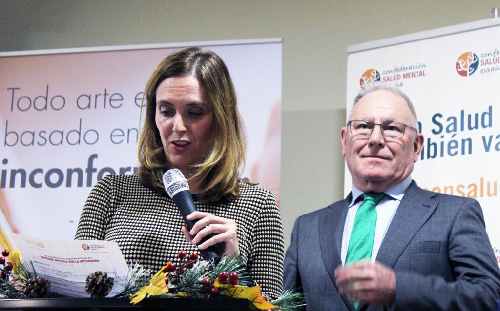 Macarena Rodríguez en el Concurso Tarjetas Navidad SALUD MENTAL ESPAÑA 2018
