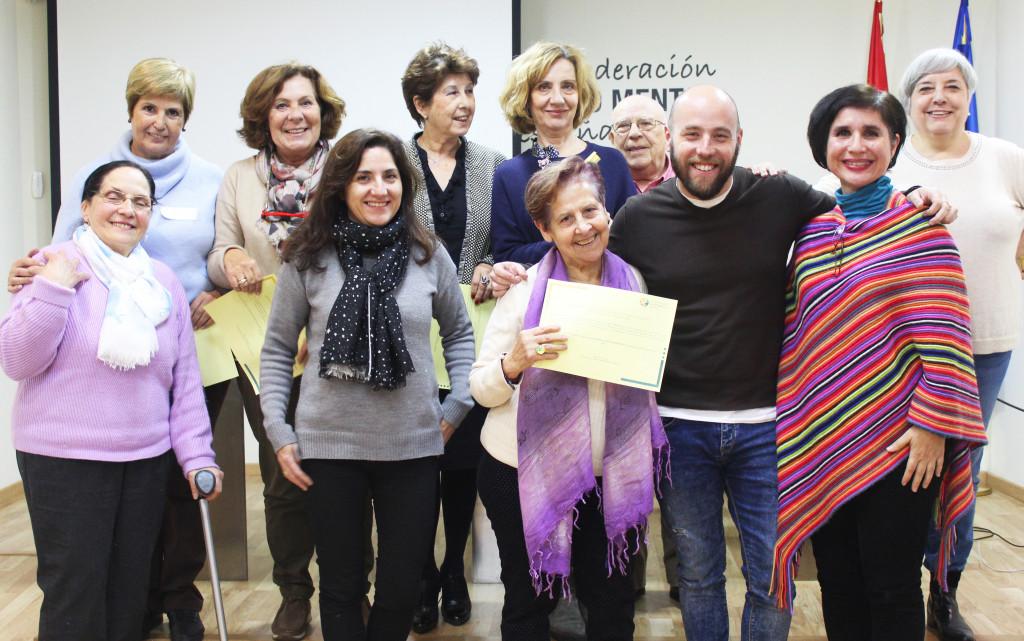 Taller portavoces SALUD MENTAL ESPAÑA - Madrid 2018 - foto de familia