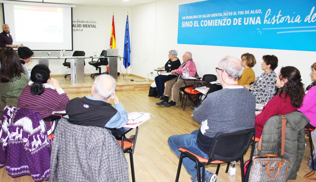 taller portavoces SALUD MENTAL ESPAÑA - Madrid 2018