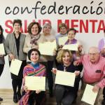 taller portavoces SALUD MENTAL ESPAÑA - Madrid 2018 - diplomas