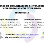 Curso Comunicación personas diversidad
