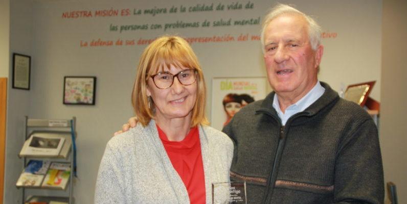 Elena Briongos y Jesús Corrales