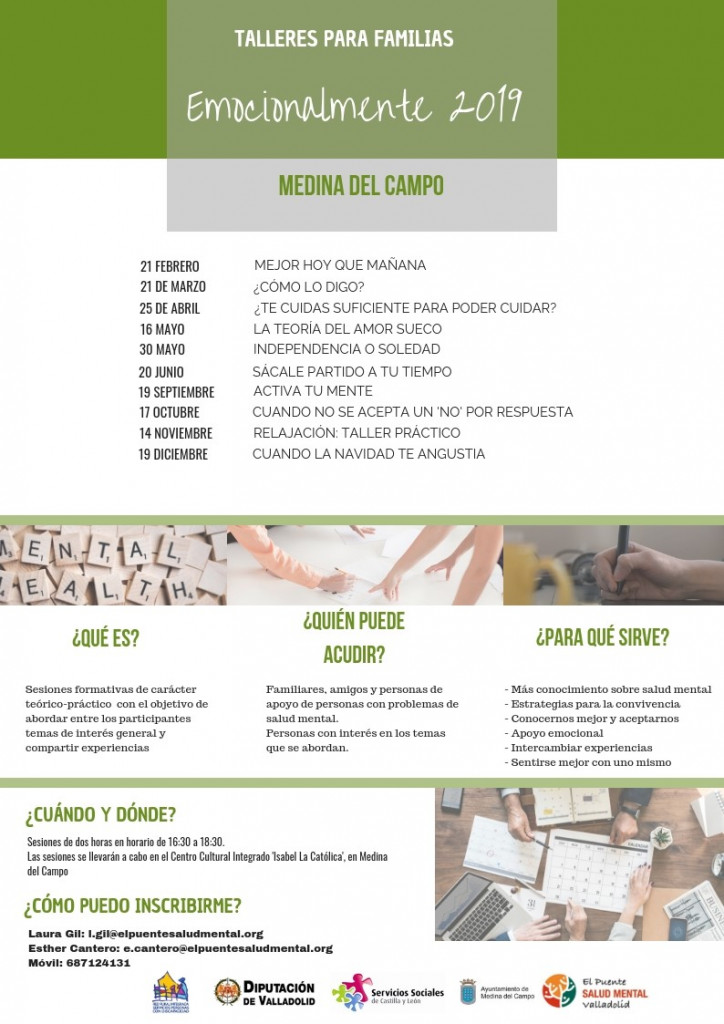 Cartel familias Medina del Campo