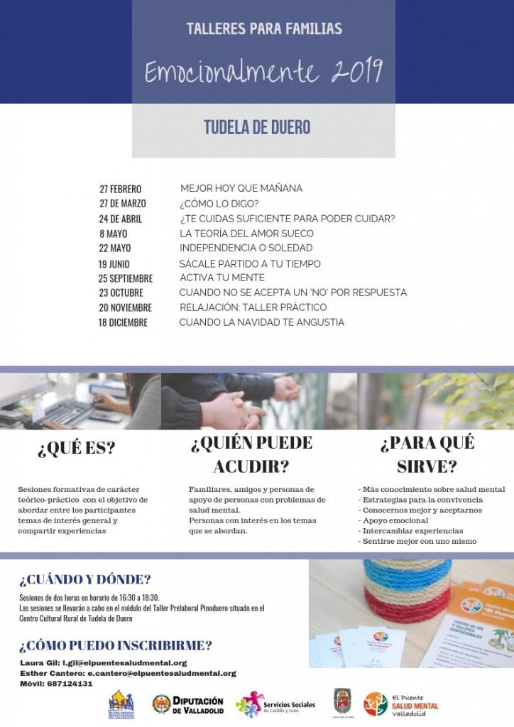 Cartel familias Tudela de Duero