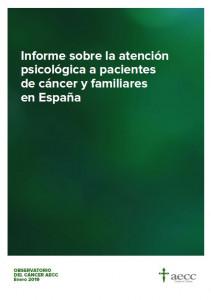 Informe sobre la atención psicológica a pacientes de cáncer y familiares