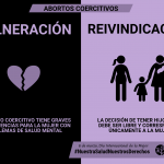 Abortos coercitivos - Campaña 8M SALUD MENTAL ESPAÑA