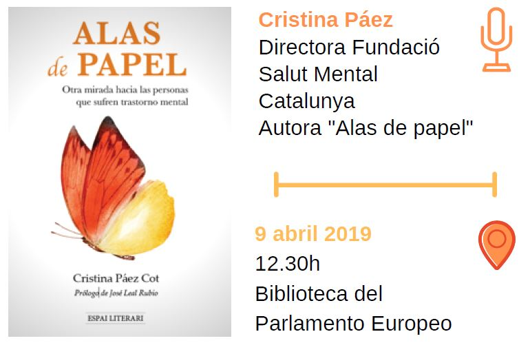 """Presentación del libro """"Alas de papel"""", en Bruselas"""