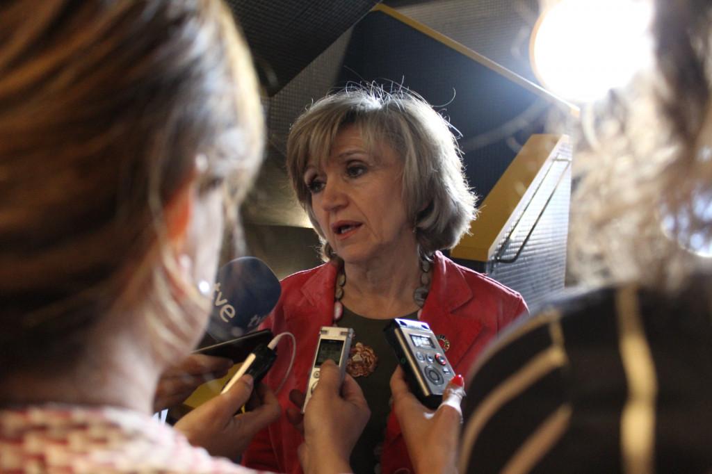 La Ministra de Sanidad Maria Luisa Carcedo en la Jornada de SALUD MENTAL ESPAÑA