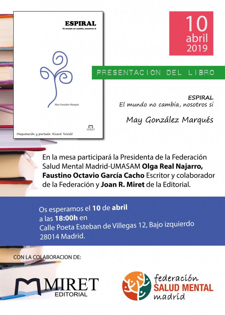 Presentación del libro ESPIRAL