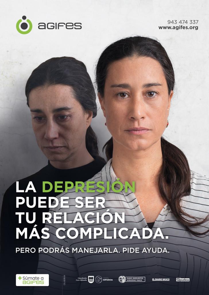 Nueva campaña de AGIFES para concienciar sobre la depresión