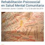 Jornada Rehabilitación Psicosocial Salud Mental Comunitaria