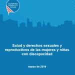 Portada Salud derechos reproductivos mujeres discapacidad