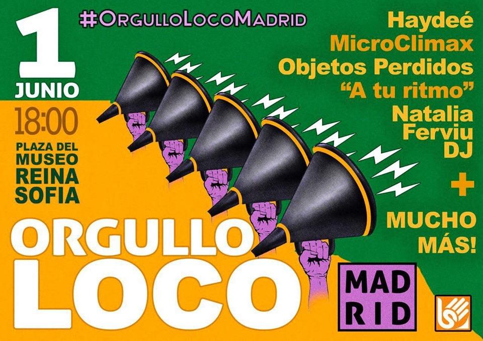 Día del Orgullo Loco Madrid