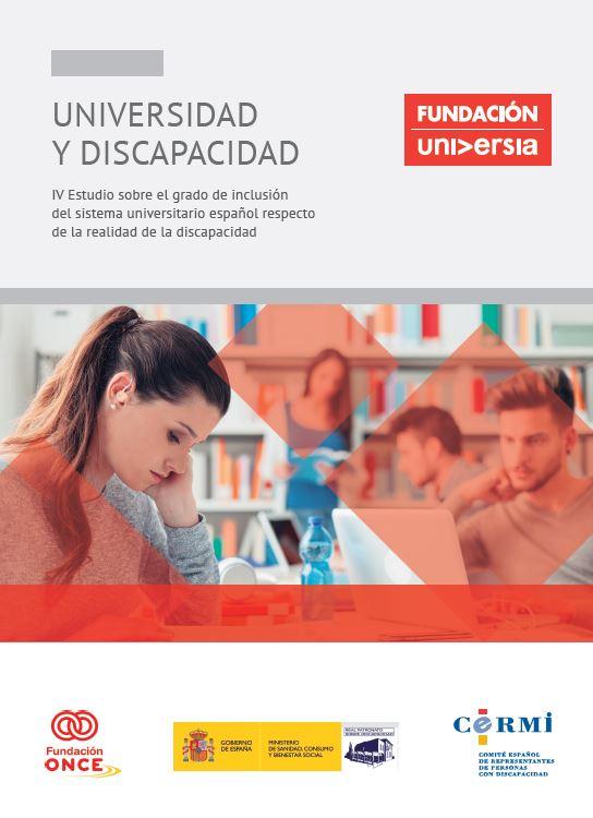 Portada IV estudio universidad discapacidad