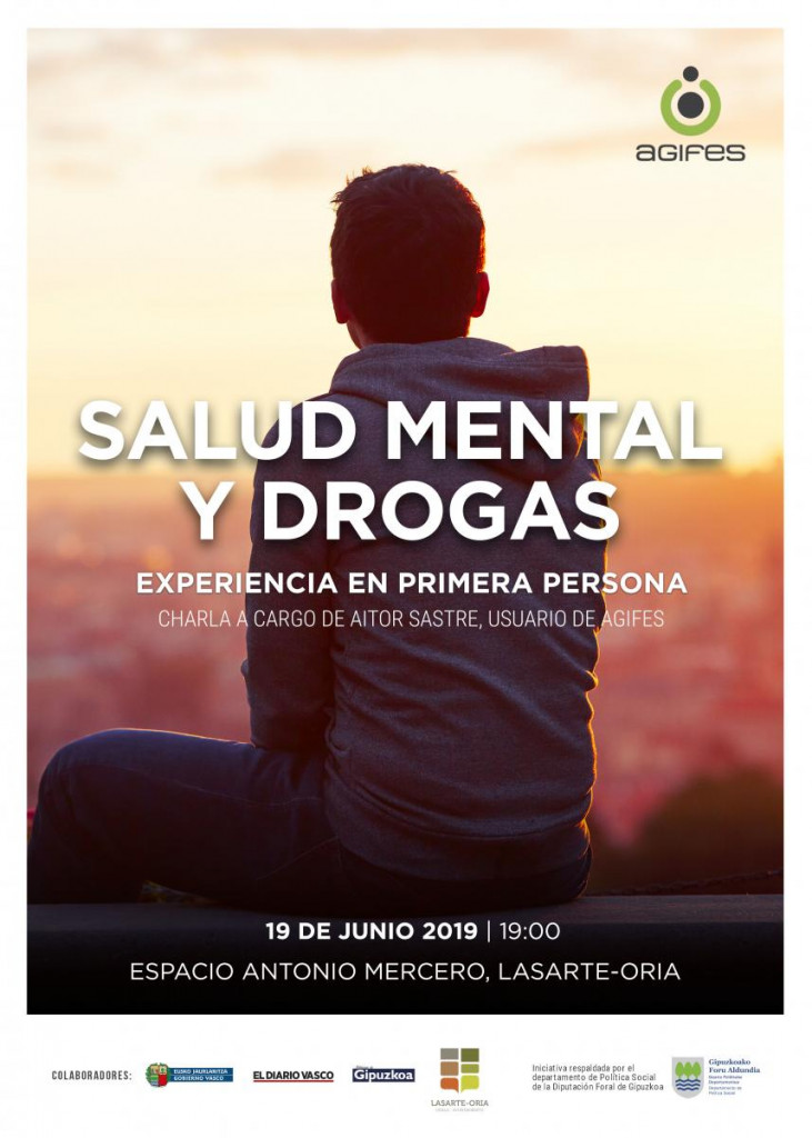 Charla sobre los efectos del consumo de tóxicos en la salud mental en Lasarte-Oria
