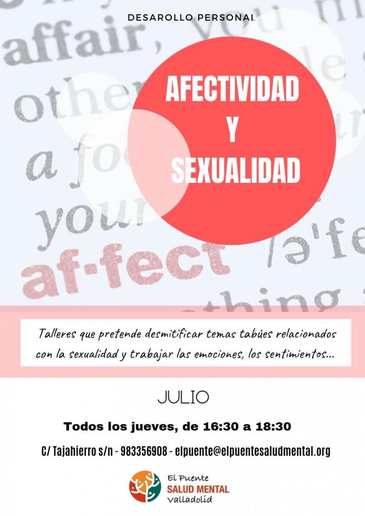 Afectividad y sexualidad