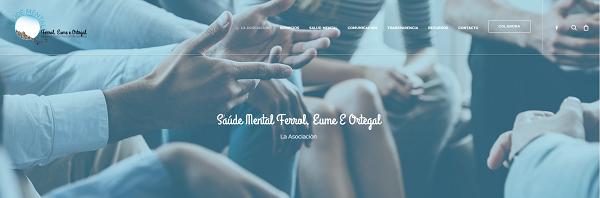 Nueva web de Saúde Mental Ferrol, Eume e Ortega