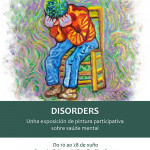 Cartel exposición Disorders