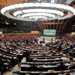 Imagen de archivo del Pleno del Consejo de Europa