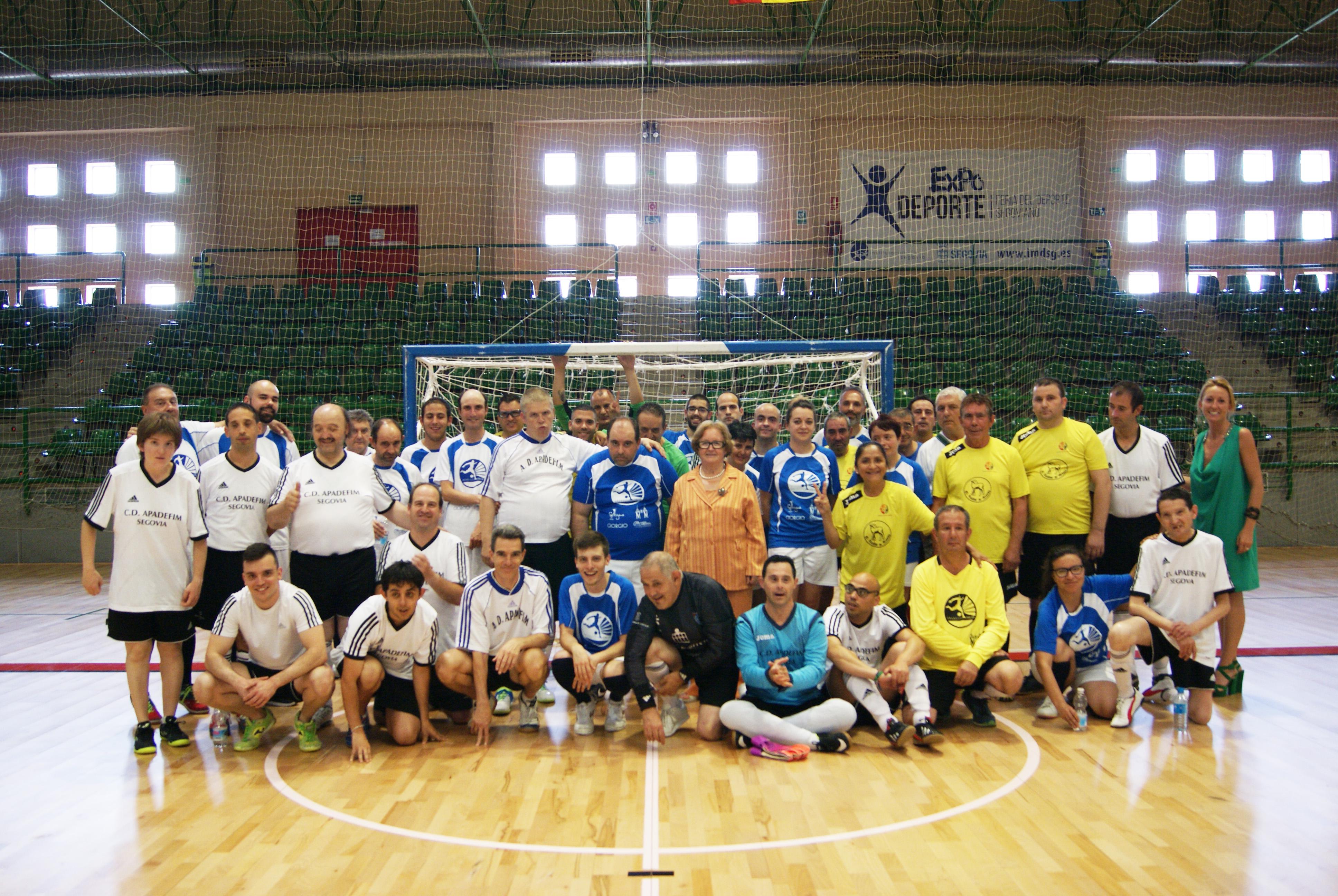 Equipos participantes en el I Torneo Cancha Abierta.