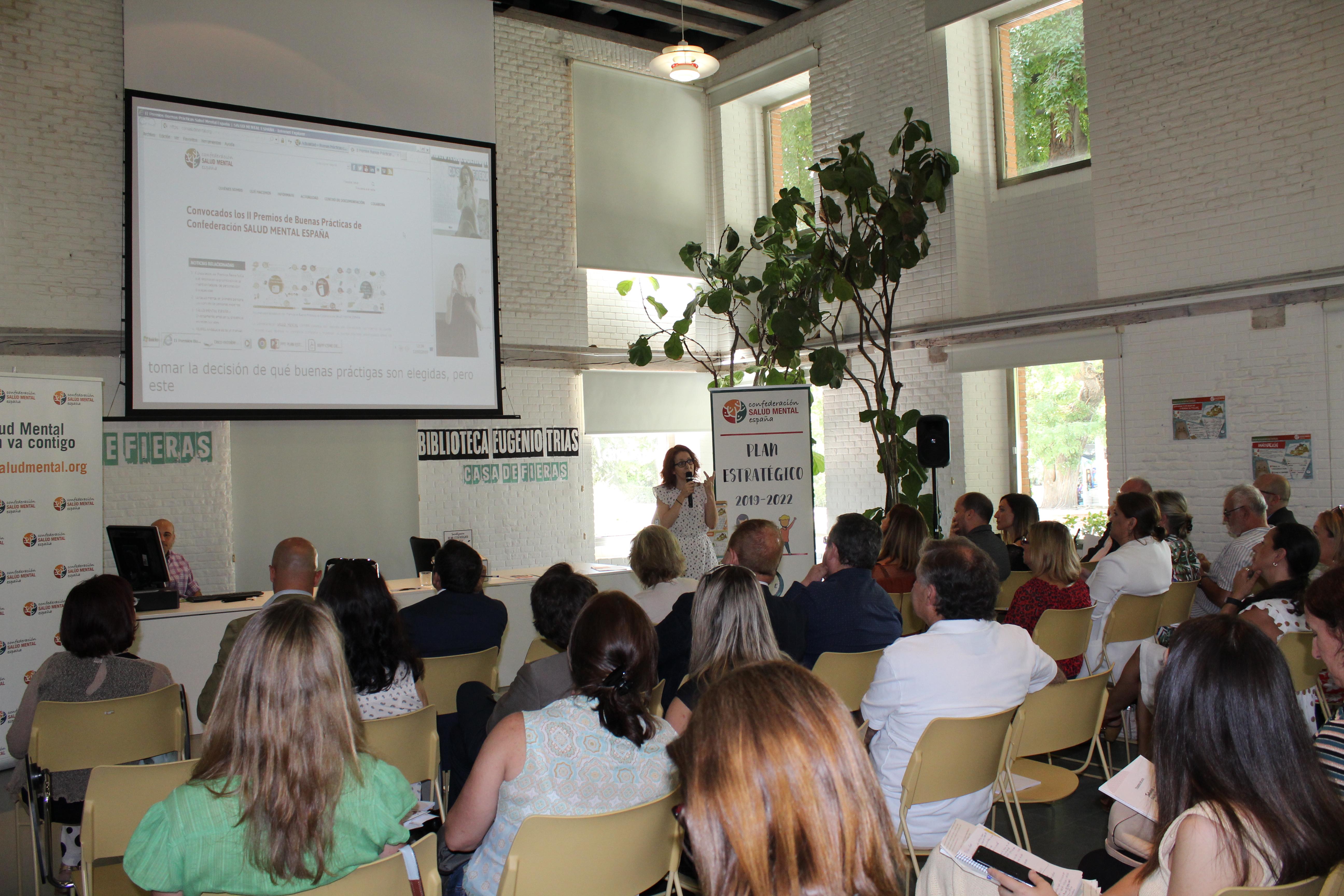Presentación Plan Estratégico Salud Mental España