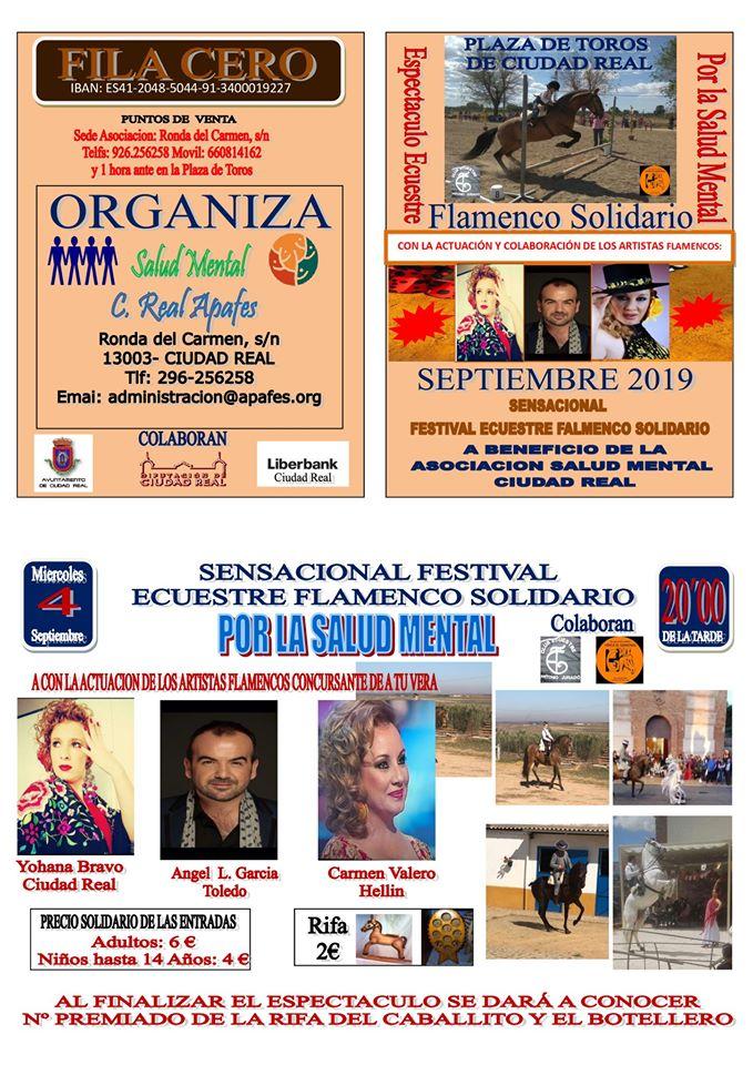 Festival ecuestre por la salud mental