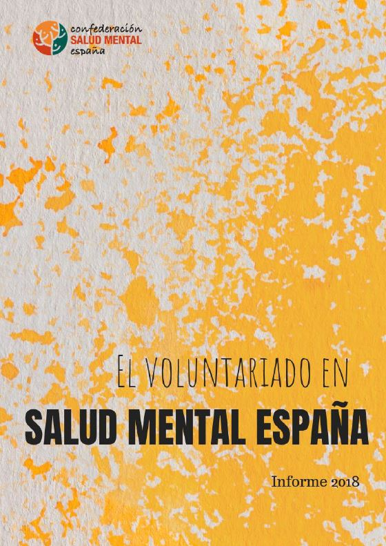 Portada Informe Voluntariado Salud Mental 2018